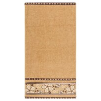 Ręcznik kąpielowy Fiora jasnobrązowy, 70 x 140 cm