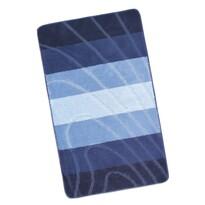 Kúpeľňová predložka Elli Vlna modrá, 60 x 100 cm