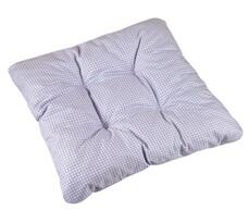 Sedák Adéla fialová kocôčka, 40 x 40 cm, sada 2 ks