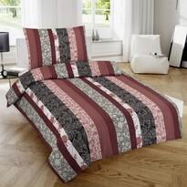 Lenjerie de pat 1 pers. Nicol Luisa, satinată , 140 x 200 cm, 70 x 90 cm