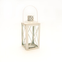 Mini latarnia 14 cm, biała