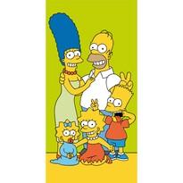 Ręcznik kąpielowy Simpsons Family, 70 x 140 cm