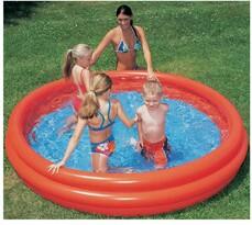 Detský bazén trojkomorový 122 x 25 cm