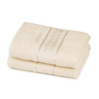 4Home Bamboo Premium ręczniki kremowy, 50 x 100 cm, 2 szt.
