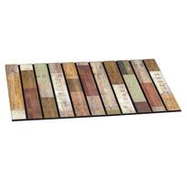 Venkovní rohožka Rustic wood slats, 46 x 76 cm