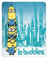 Pătură pentru copii  The Minions Le buddies, 120 x 150 cm