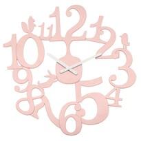 Koziol Nástenné hodiny PI:P ružová, pr. 45 cm
