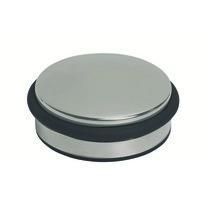 Nerezová dvěřní zarážka PUK, pr. 9,5 cm