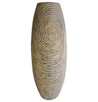 StarDeco Váza v přírodních barvách, 45 cm