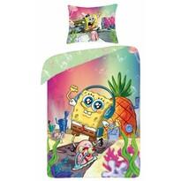 Dětské bavlněné povlečení Spongebob, 140 x 200 cm, 70 x 90 cm