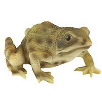 Dekoracja ogrodowa Żaba, brązowy