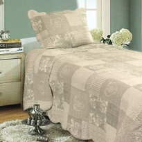 Narzuta na łóżko Patchwork, 140 x 200 cm, 1x 50 x 70 cm