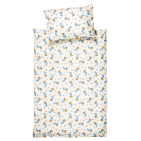 Detské bavlnené obliečky do postieľky Medvedík, 90 x 130 cm, 40 x 60 cm