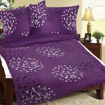 Obliečky mikroflanel Lupienky fialová, 140 x 200 cm, 70 x 90 cm