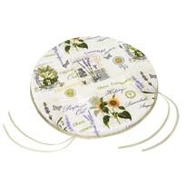 Siedzisko Gita gładkie okrągłe Słoneczniki, 40 cm