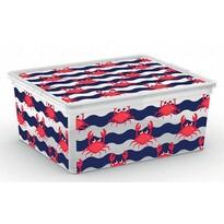 KIS Dekoračný úložný box C Box Style M Cute Animals, 18 l