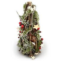Vánoční ratanový kužel Adorno, 30 cm