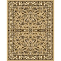 Kusový koberec Samira 12002 beige, 160 x 225 cm