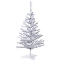 Vianočný stromček smrek stolný v. 82 cm, biela