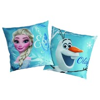 Vankúšik Ľadové kráľovstvo Frozen Enjoy, 40 x 40 cm