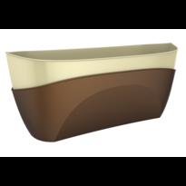 Skrzynka samonawadniająca Doppio brązowy