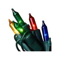 Venkovní řetěz barevná, 160 žárovek