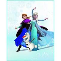 Koc dla dzieci Kraina lodu Frozen Enjoy, 110 x 140 cm