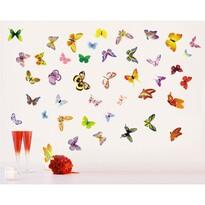Naklejka dekoracyjna Zlot motyli romantyka