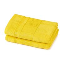 4Home Ręcznik Bamboo Premium żółty, 50 x 100 cm, 2 szt.