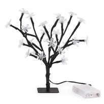 Svíticí stromeček s květy, 25 LED