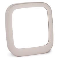 Zrcadlo Piazza béžová, 18,5 x 19,5 cm