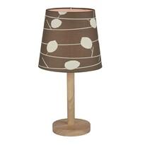Stolní lampa Qenny 6, hnědá