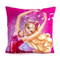 Vankúšik Barbie noty, 40 x 40 cm