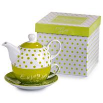3dílná čajová souprava Enjoy Lemon