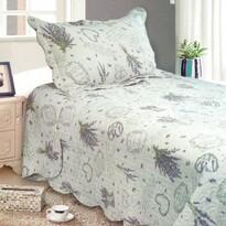 Přehoz na postel Levandule, 140 x 200 cm, 1 ks 50 x 70 cm
