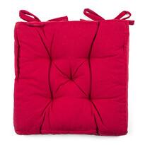 Siedzisko Anne czerwony, 39 x 39 cm