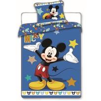 Bavlnené obliečky Mickey stars, 140 x 200 cm, 70 x 90 cm