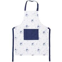 Fartuch kuchenny Country kropki niebieski, 60 x 80 cm