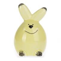 Dekorační zajíček žlutá, 8 cm