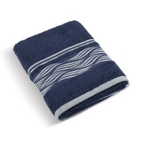 Ręcznik kąpielowy Fala niebieski
