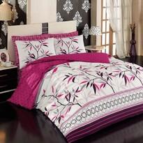 Bavlnené obliečky peace V2 fusya, 140 x 200 cm, 70 x 90 cm