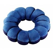 Multifunkčný vankúš Flower, modrá