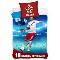 Bavlnené obliečky Polska Krychowiak, 160 x 200 cm, 70 x 80 cm