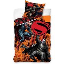 Bavlnené obliečky Batman vs. Superman - Fight, 140 x 200 cm, 70 x 90 cm