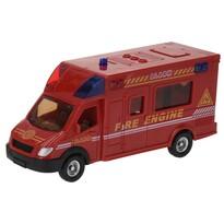 Hasičské vozidlo červená, 18 cm