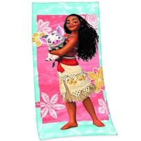 Ręcznik plażowy Odważna Vaiana, 75 x 150 cm