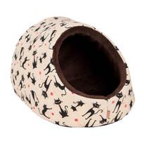 Kukaň Mína béžovo-hnědá, 38 x 32 cm