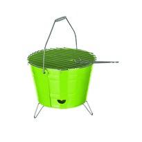 Bucket kompakt grillsütő, zöld