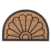 Venkovní rohožka Exotic 4 půlkruh, 40 x 60 cm
