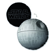 Polštářek Star Wars Death Star, 40 cm